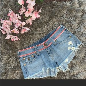 True Religion Denim Shorts  super cute 💗
